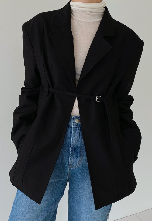 formal buckle jacket