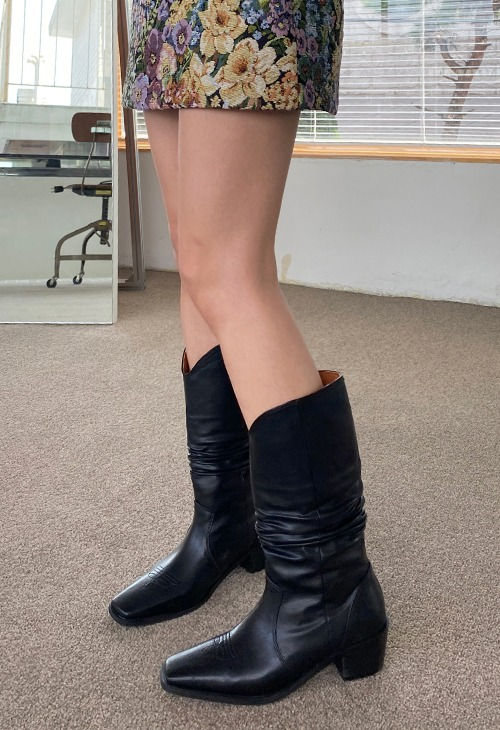 wrinkle western boots