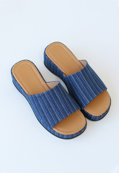 molly platform slipper
